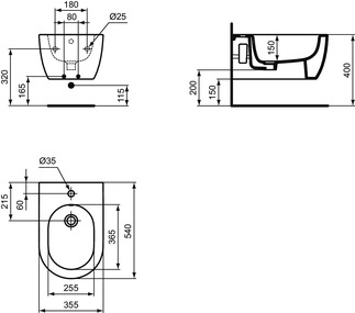 IS_BlendCurve_T3750_PrListDrw_NN_WH;BIDET;CURVE